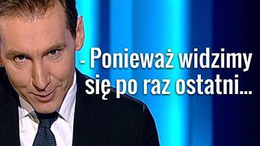 """Piotr Kraśko w """"Wiadomościach"""" TVP"""