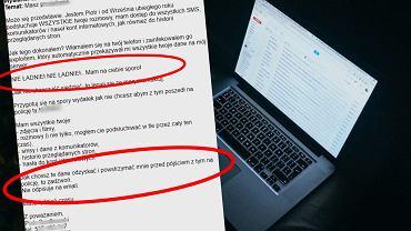 Ktoś szantażuje polskich internautów