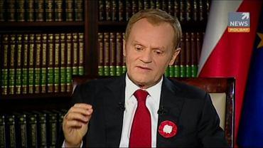 Donald Tusk w Polsat News