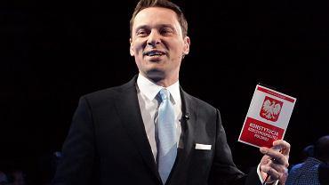 'Twarz Wiadomości' red. Krzysztof Ziemiec. Debata prezydencka w TVP, 5 maja 2015