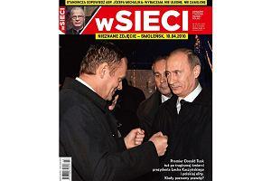 """Fotoreporter """"Go�cia Niedzielnego"""" krytykuje """"wSieci"""" za zdj�cie Tuska z Putinem"""