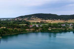 Jezioro turkusowe - zatopiona kopalnia kredy