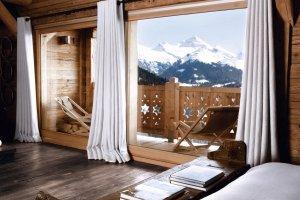 Dom w alpejskiej wiosce