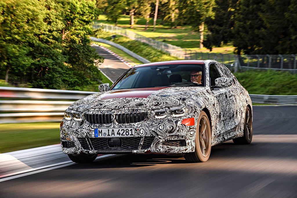 Prototyp nowego BMW serii 3