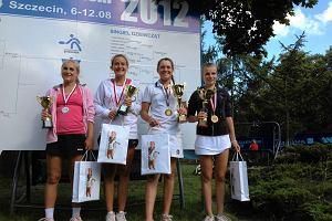 Oliwia Szymczuch zdoby�a mistrzostwo Polski w tenisie