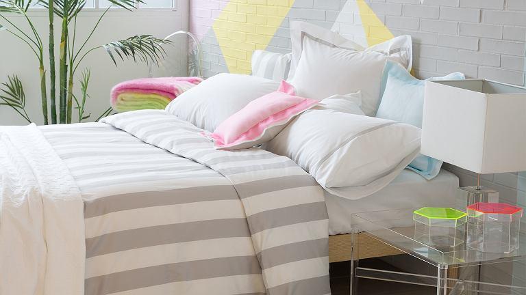 Wiosenna aranżacja sypialni