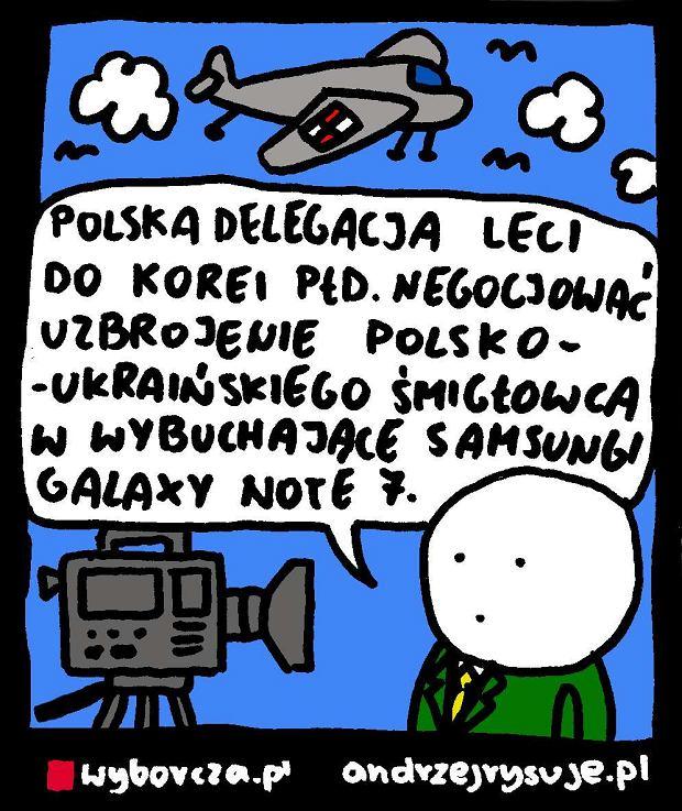 Andrzej Rysuje || �mig�o -  -