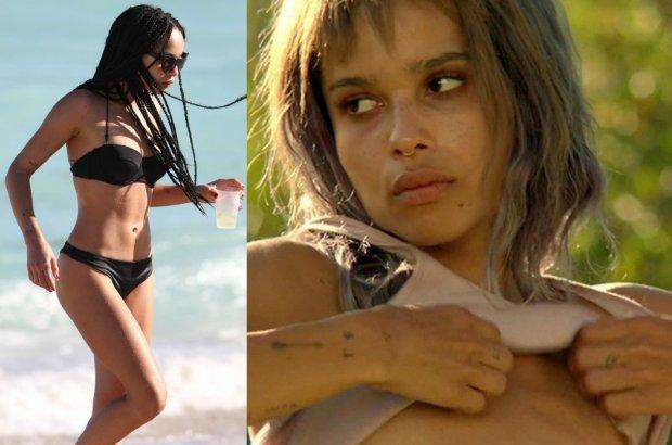 Kiedyś wstydziła się własnego wyglądu, dziś jest zdrowa i kocha swoje ciało. Zoe Kravitz po zagraniu anorektyczki pokonała chorobę.