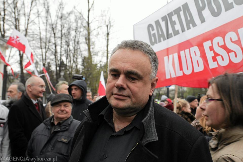 Demonstracja pod ambasadą Rosji, 09.04.2016