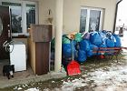 Fundacja zbierała rzeczy dla potrzebujących. Zgarnęła też worki rodziny w trakcie przeprowadzki. Były tam cenne rzeczy