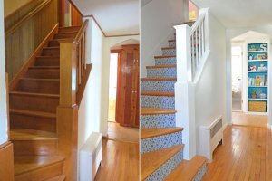 Pomys�owa metamorfoza klatki schodowej