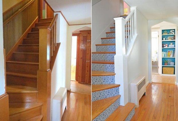 Pomysłowa metamorfoza klatki schodowej