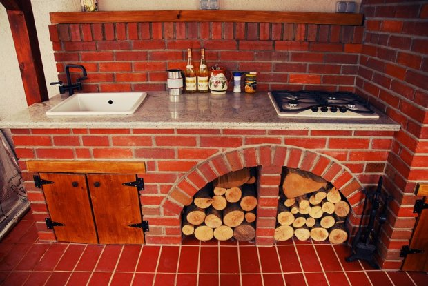 Inspiracje rustykalne kuchnie letnie  zdjęcie nr 20 -> Kuchnia Letnia Galeria