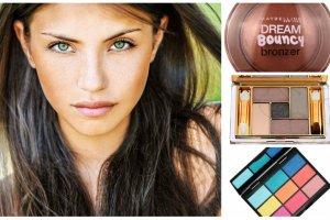 Kosmetyki do makija�u dla brunetek i szatynek. Przegl�d cieni, r�y i szminek