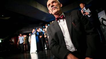 Janusz Korwin Mikke ma szansę wprowadzić swoich ludzi również do Sejmu