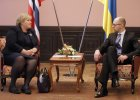 Jaceniuk: wzywamy Rosj� do negocjacji ws. Donbasu