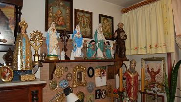 W mieszkaniu złodzieja policjanci znaleźli przedmioty skradzione z różnych kościołów