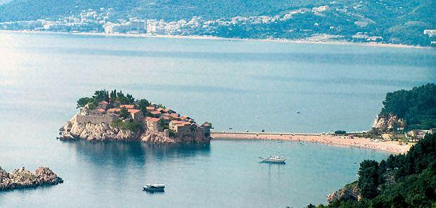 Podróż do Czarnogóry czyli na tropach mistrzów samogonu, wakacje, europa, podróże, Wyspa Święty Stefan