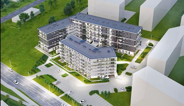Wizualizacja inwestycji Nowe Miasto Różanka