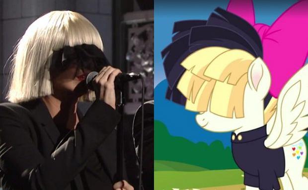 """Sia swoją nową piosenkę użyczy w """"My Little Pony. Film"""". Kolorowy singiel """"Rainbow"""" wykona kucyk, który stanie w obronie krainy kucyków przed mroczną siłą."""