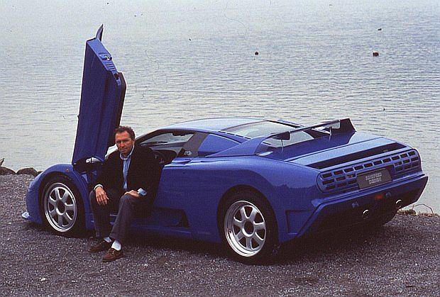 Johenn Mass były kierowca F1 był zaangażowany do promocji auta.