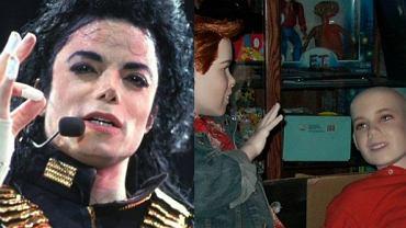 Szokuj�ce zdj�cia z willi Michaela Jacksona. Manekiny dzieci i tajna szafa