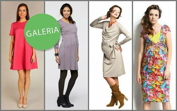 2a5733ea7f26 Wizytowe sukienki dla kobiet w ciąży - propozycje na wiosnę i lato