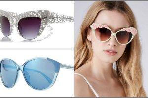 """10 naj�adniejszych okular�w przeciws�onecznych typu """"cat eye"""""""