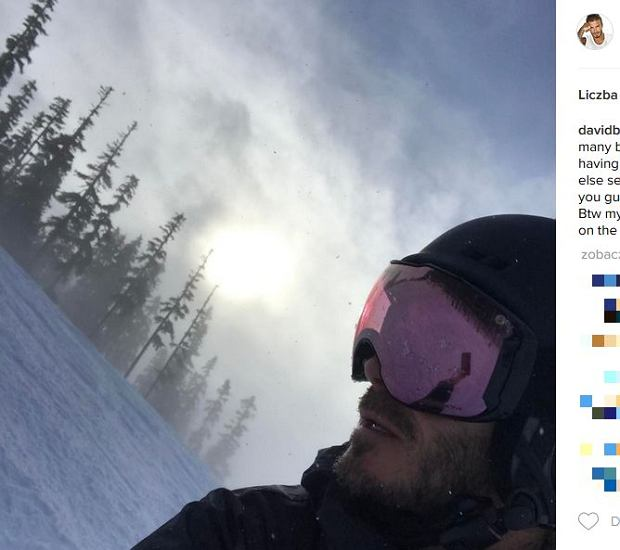 Zdjęcie numer 5 w galerii - Rodzina Beckhamów w górach. Harper uczy się jeździć na nartach! Nie obyło się bez WYPADKU. Zobaczcie nagranie
