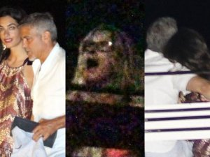 George Clooney i Amal Clooney, Julia Roberts