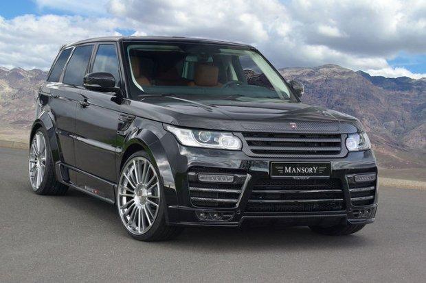 Mansory Range Rover Sport | Czarne z�oto