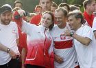 Bieg Wolno�ci w Warszawie. W�r�d uczestnik�w m.in. Donald Tusk i Robert Korzeniowski [ZDJ�CIA]