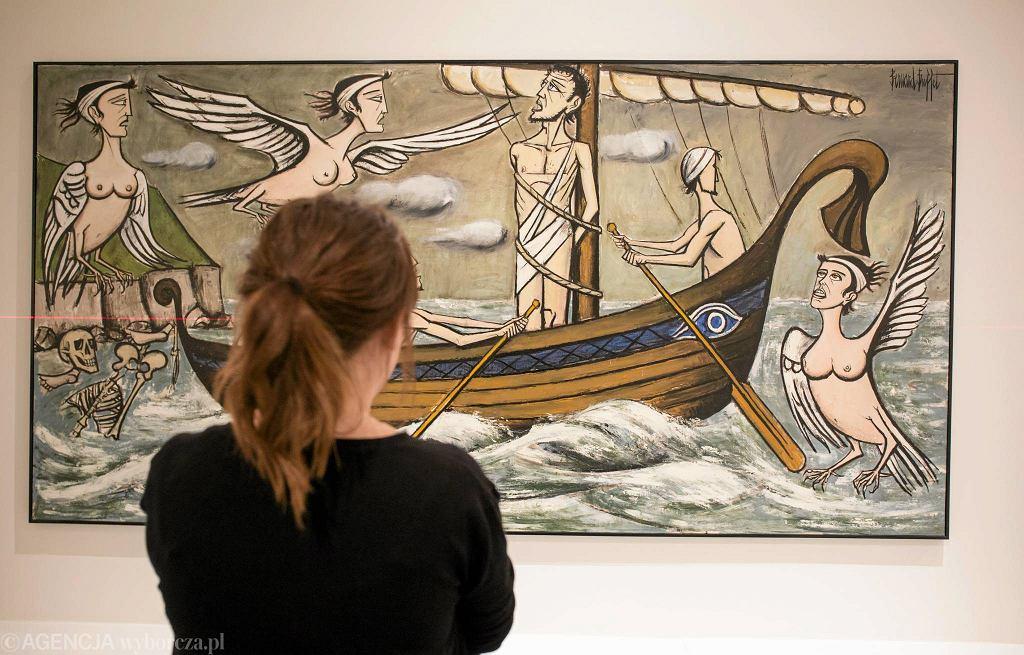 Wystawa 'Syrena herbem twym zwodnicza' w tymczasowym pawilonie Muzeum Sztuki Nowoczesnej / ALBERT ZAWADA