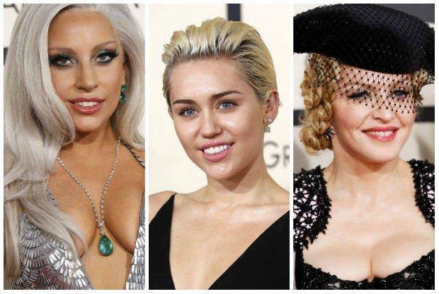 Grammy 2015: Gwiazdy pokocha�y kolor szmaragdowy! Ale nie zabrak�o te� szampa�skich cieni, matowych pomadek i oczywi�cie... magicznego kosmetyku