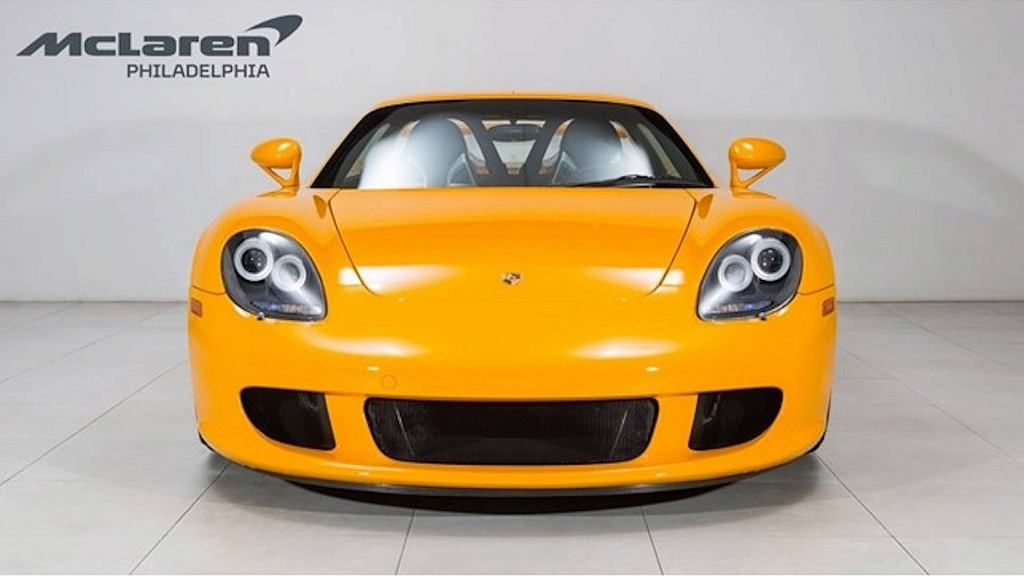 Porsche Carrera GT Signal Yellow
