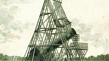 Tzw. 40-stopowy teleskop Williama Herschela (1738-1822).