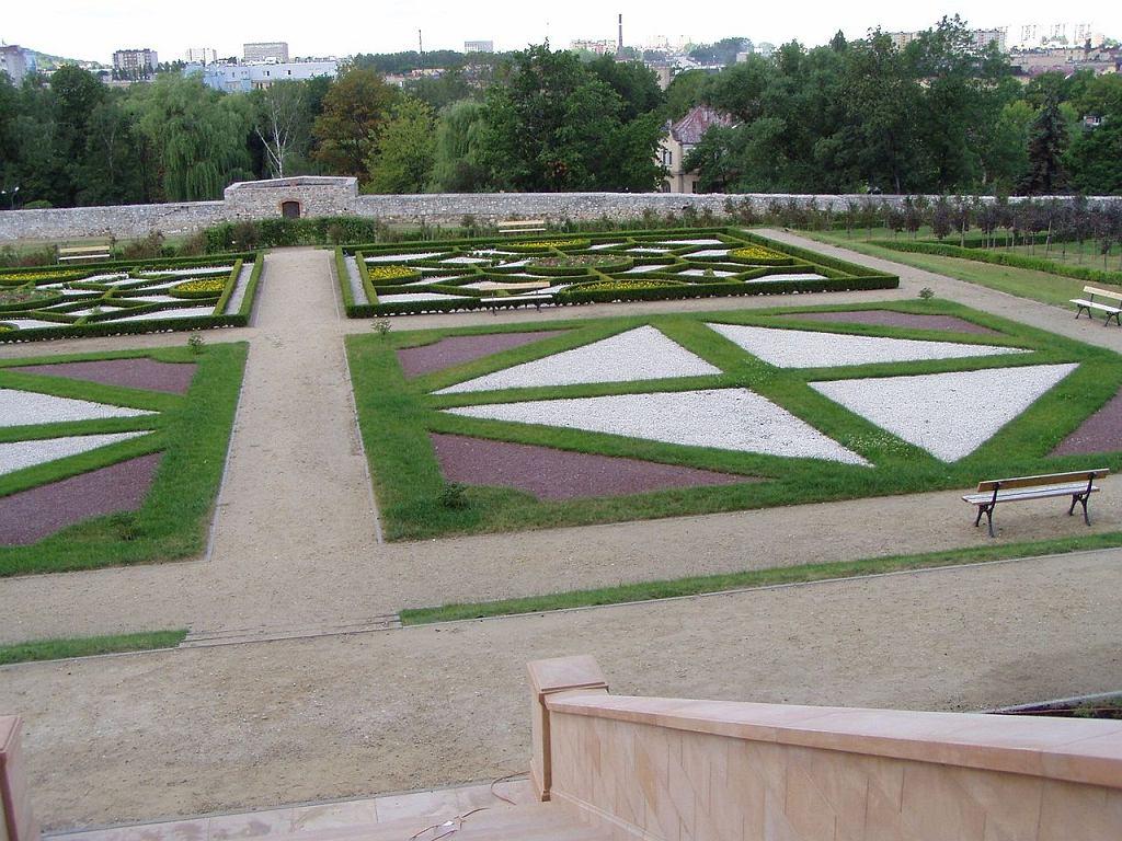 Ogród Włoski przy Pałacu Biskupim w Kielcach / Fot. Paweł Cieśla Staszek_Szybki_Jest, CC BY-SA 4.0