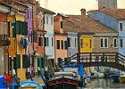 Wenecja. Koronki z wyspy Burano