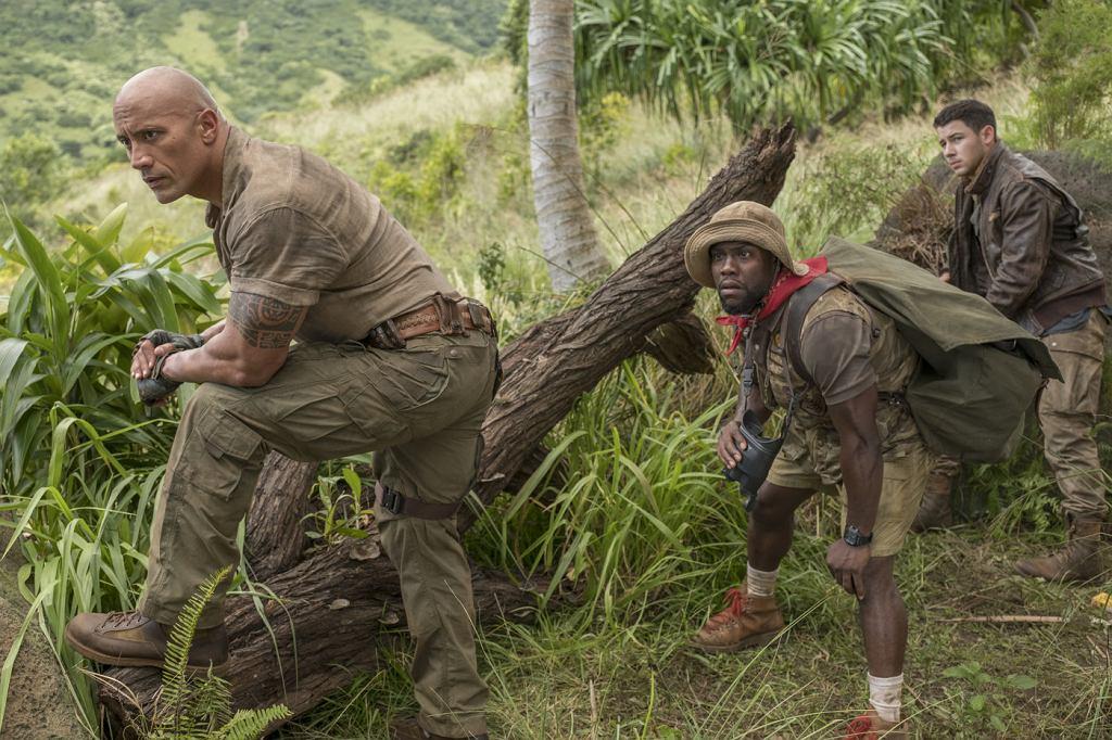 Kadr z filmu 'Jumanji: Przygoda w dżungli' / Materiały prasowe