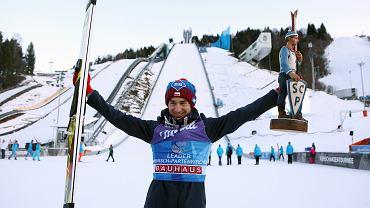 Kamil Stoch - zwycięzca w Garmisch-Partenkirchen