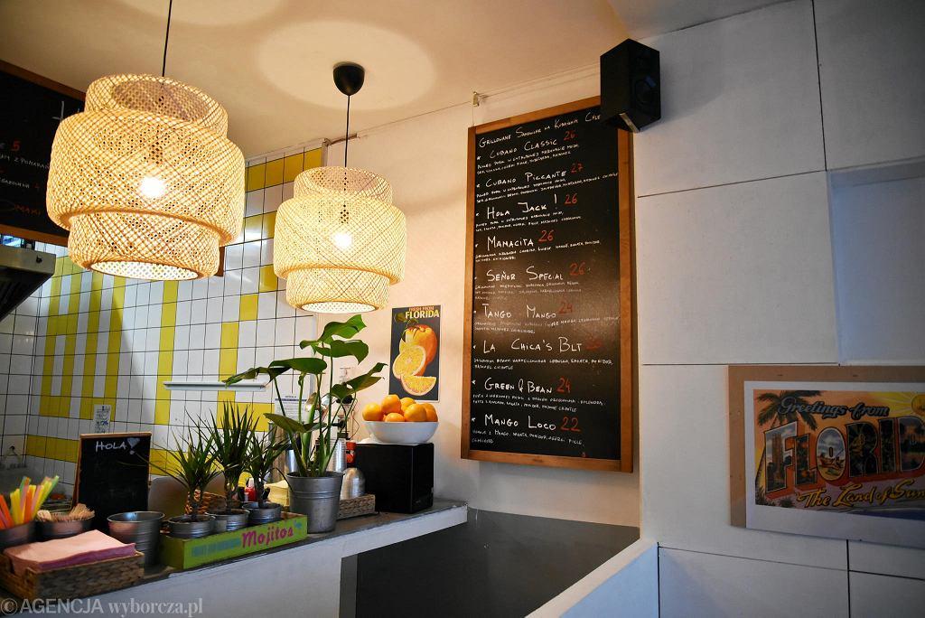 La Chica Sandwicheria. Bar kanapkowy przy ul. Solec 50 / FRANCISZEK MAZUR