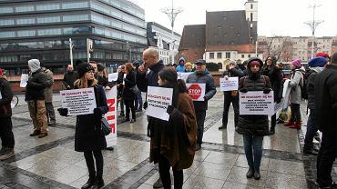 Wrocławianie przeciw myśliwym. Protest