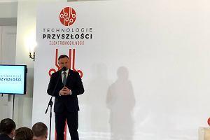 Andrzej Duda pomoże spełnić marzenie Morawieckiego? Prezydent wierzy w polski elektryczny samochód