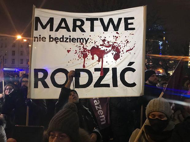 Czarna Środa w Warszawie