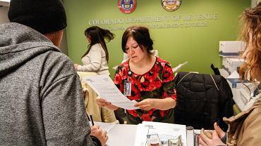 W urzędzie miejskim w Denver można uzyskać licencję na uprawę i sprzedaż marihuany