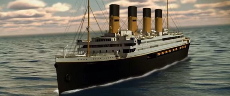 Titanic znowu wypłynie w rejs. Już za cztery lata wyruszy z Dubaju. Ceny biletów zwalą z nóg? [WIDEO]