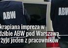 W siedzibie ABW pod Warszaw� znaleziono cia�o pracownika. RMF FM: By�a zakrapiana impreza
