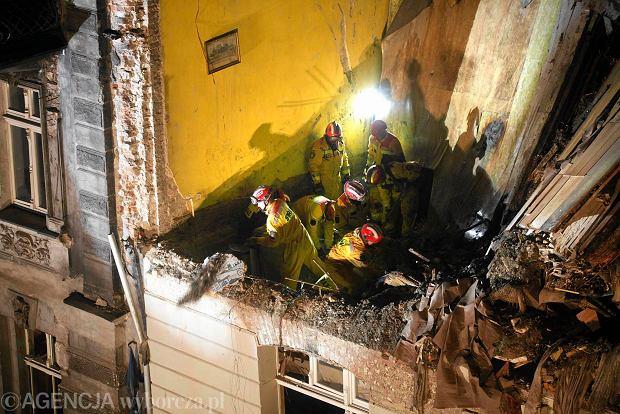 Wybuch gazu zniszczył kamienicę w Katowicach. Akcja zakończona, trzy osoby nie żyją