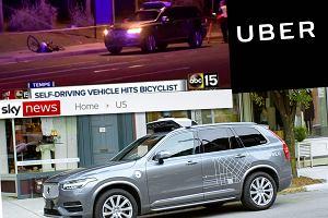 Nowe szczegóły dotyczące śmiertelnego wypadku autonomicznego samochodu Ubera. Nie powinna tego robić