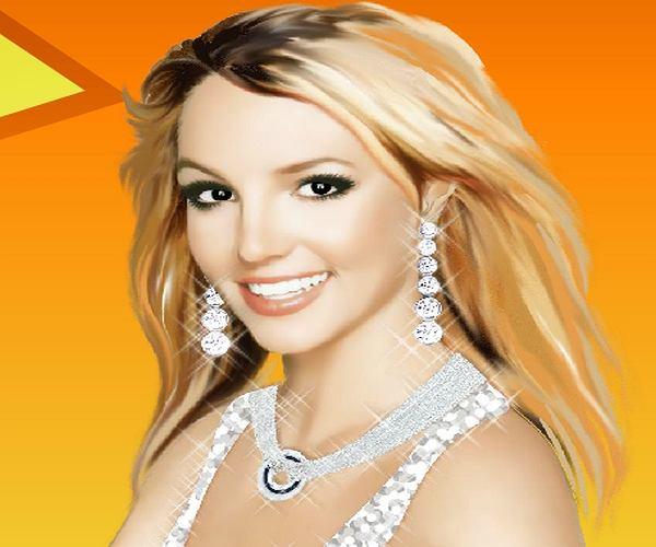 Pomaluj Britney Spears!